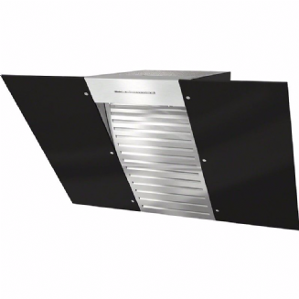 MIELE DA6096W Wall mounted extractor | Black Wing | Energy efficient LED
